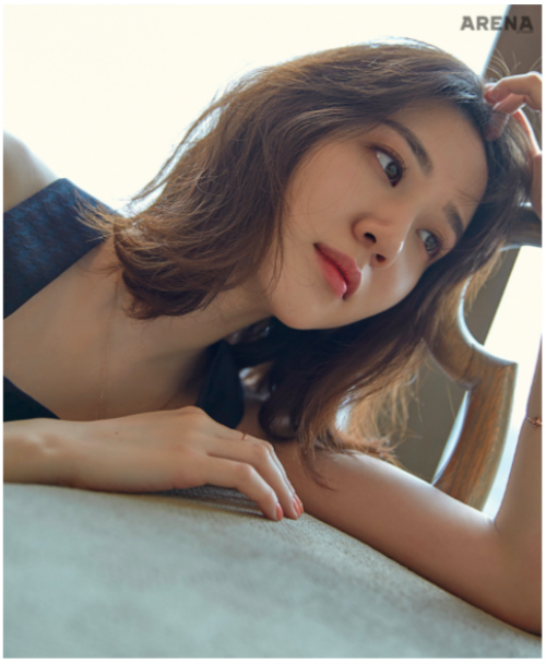 Park Eun-bin 박은빈 Arena magazine interview