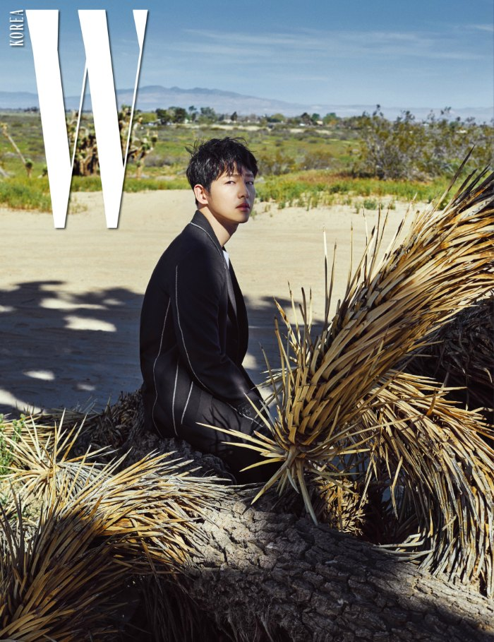 Song Joong-ki W magazine interview