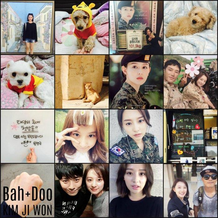 Instagram roundup: Kim Ji-won part I