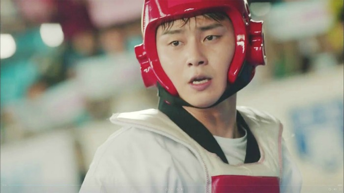 Ssam My Way Park Seo Joon spinning kick