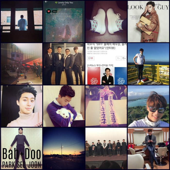 Instagram roundup: Park Seo-joon part II