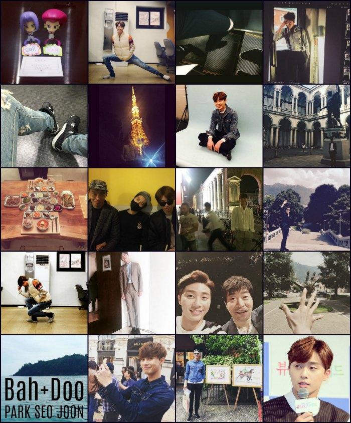 Instagram roundup: Park Seo-joon part IV