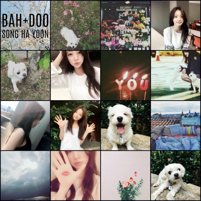 Instagram roundup: Song Ha-yoon 2017 part II