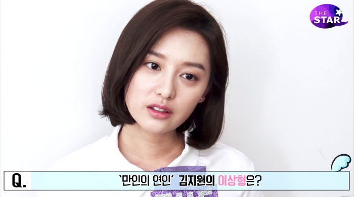 Kim Ji-won The Star Interview