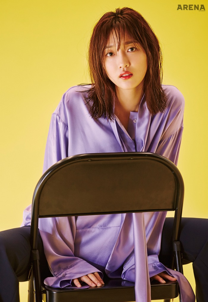 Pyo Ye Jin Interview Arena Magazine