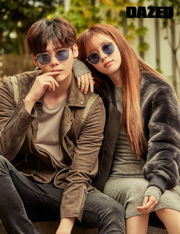 Han Hyo-joo and Lee Jong-seok Dazed Interview: Legend of the