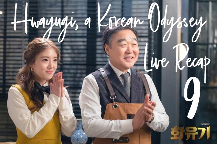 Kdrama Live recap Hwayugi