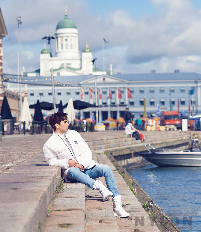 Yoo Seung Ho Nylon Magazine Interview: 120 Hours in Helsinki
