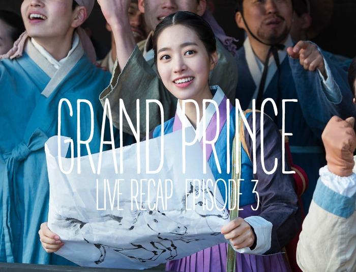 Grand Prince Live-ish Recap: Episode 3