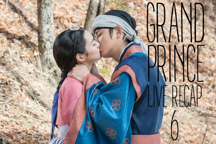 Live recap for episode 6 of the Korean drama Grand Prince starring Yoon Shi-yoon and Jin Se-yeon
