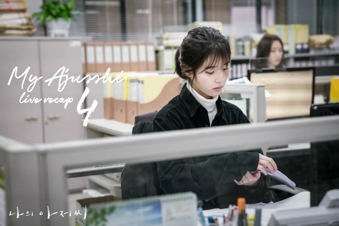 Episode 4 live recap for the Korean Drama My Mister / My Ajusshi starring Lee Ji-Eun and Lee Sun-Kyun.
