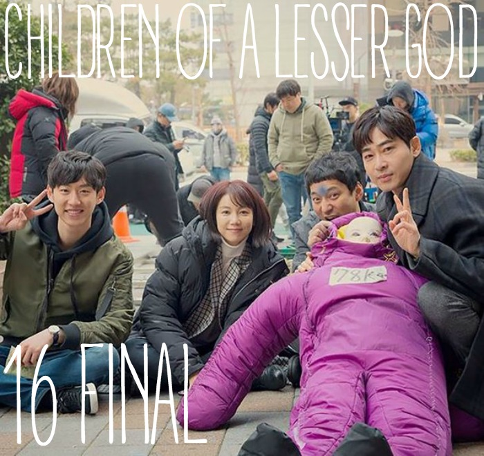 Episode 16 Final recap of the OCN Korean drama Children of a Lesser God starring Kang Ji-Hwan and Kim Ok-bin