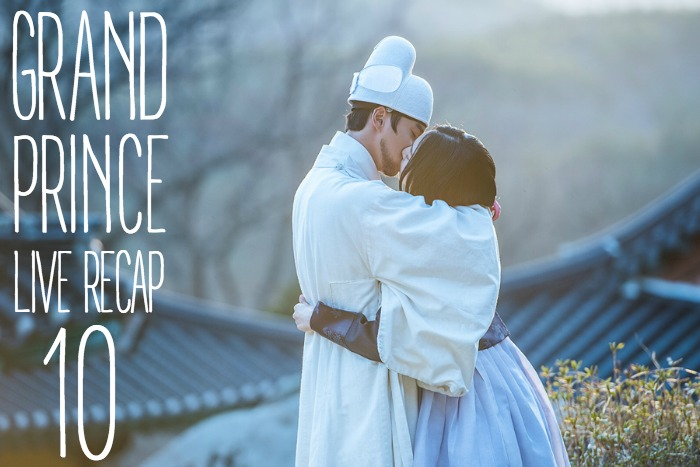 Live recap for episode 10 of the Korean drama Grand Prince starring Yoon Shi-yoon and Jin Se-yeon