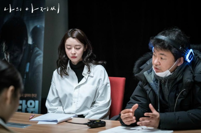 Behind the scenes for the drama My Ajusshi / My Mister starring IU (Lee Ji-An) and Lee Sun-Kyun