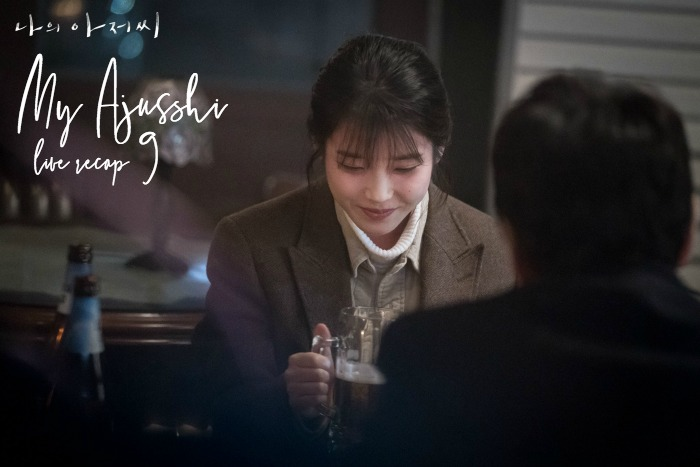 Episode 9 live recap for the Korean Drama My Mister / My Ajusshi starring Lee Ji-Eun and Lee Sun-Kyun
