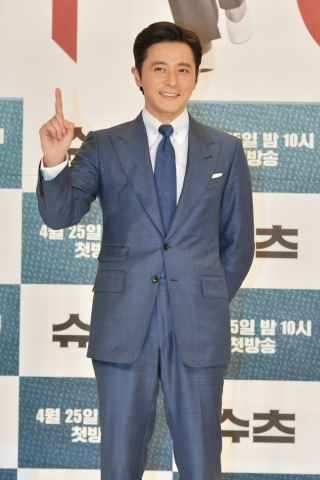 Press conference for the Korean Drama (Kdrama) Suits starring Jang Dong-gun and Park Hyung-sik