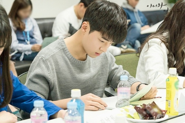 Script reading for the Korean drama (Kdrama) Come and Hug Me starring Jang Ki-yong and Jin Ki-joo