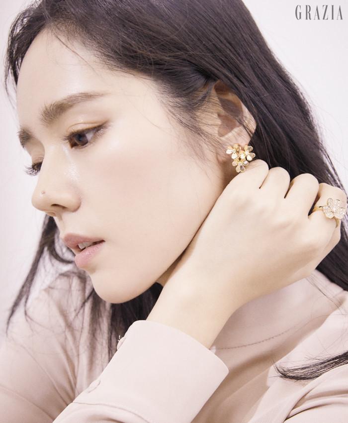 Han Ga-In Grazia magazine Drama Milk 1-1
