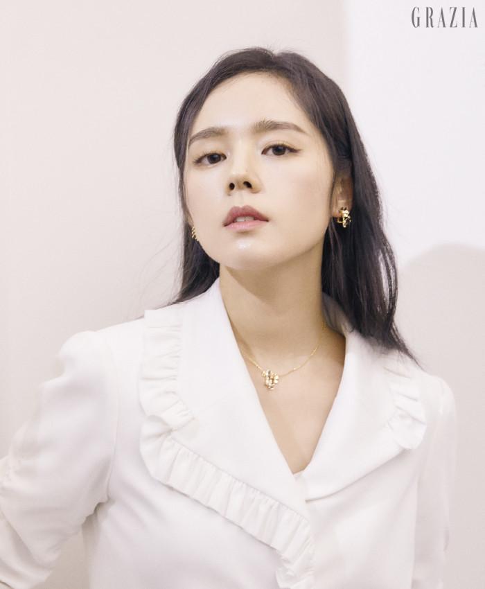 Han Ga-In Grazia magazine Drama Milk 1-10