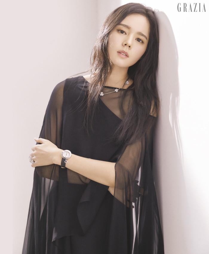 Han Ga-In Grazia magazine Drama Milk 1-2