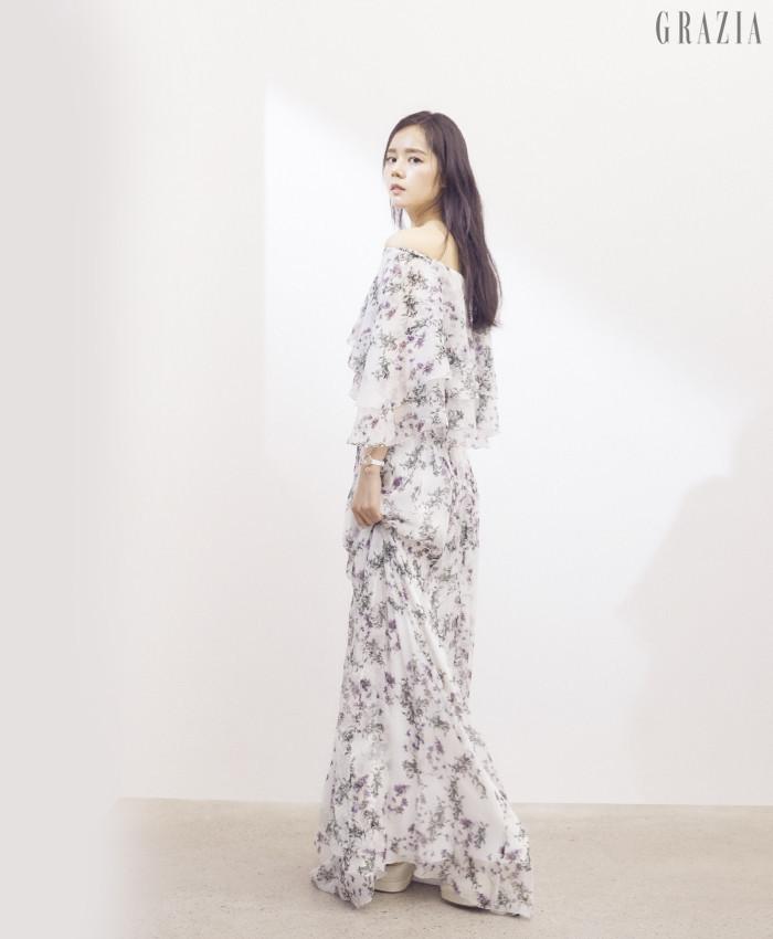 Han Ga-In Grazia magazine Drama Milk 1-4