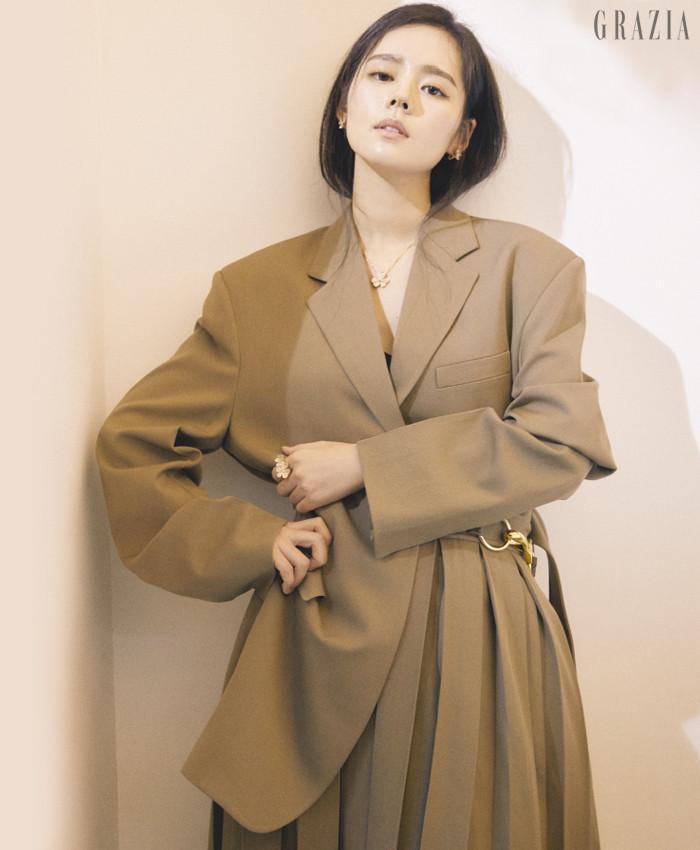 Han Ga-In Grazia magazine Drama Milk 1-5