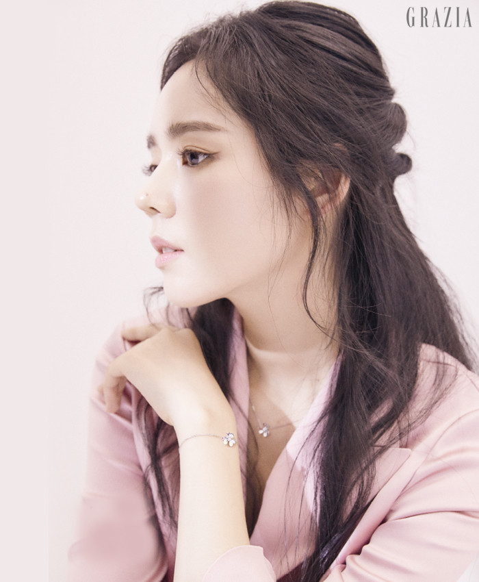 Han Ga-In Grazia magazine Drama Milk 1-6
