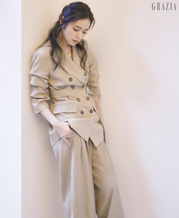 Han Ga-In Grazia magazine Drama Milk 1-8