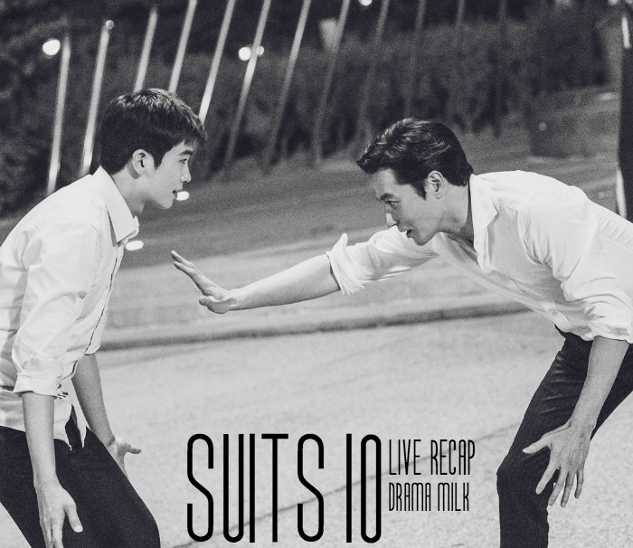 Live recap for episode 10 of the Korean Drama Suits starring Jang Dong-gun and Park Hyun-sik