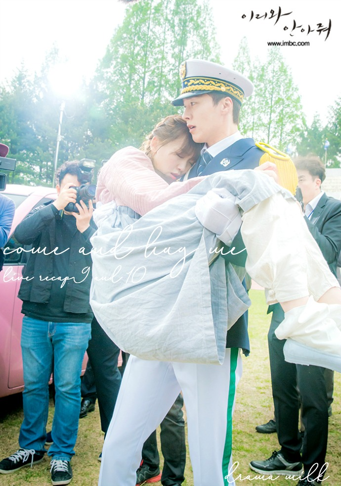 Episode 9 and 10 recap for the Kdrama Come and Hug Me starring Jang Ki-yong and Jin Ki-joo