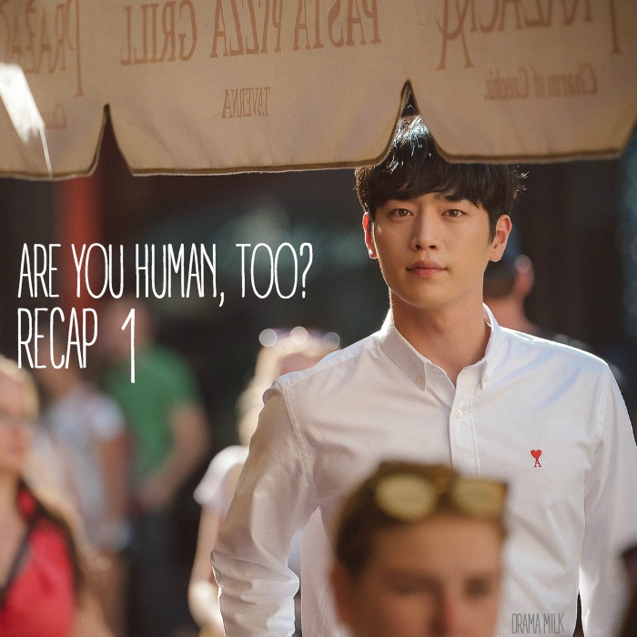 Episode 1 recap for the kdrama Are You Human Too starring Seo Kang-joon and Kong Seung-yeon