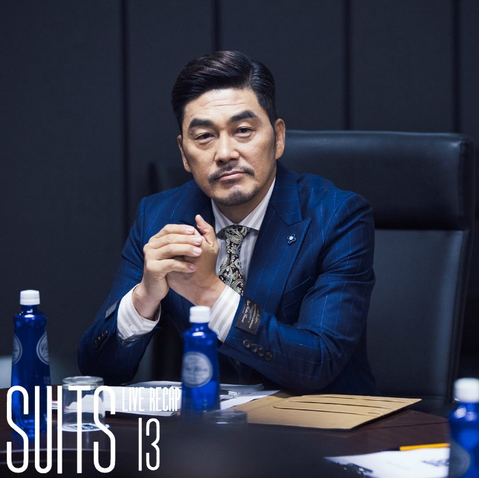 Live recap for episode 13 of the Korean Drama Suits starring Jang Dong-gun and Park Hyun-sik