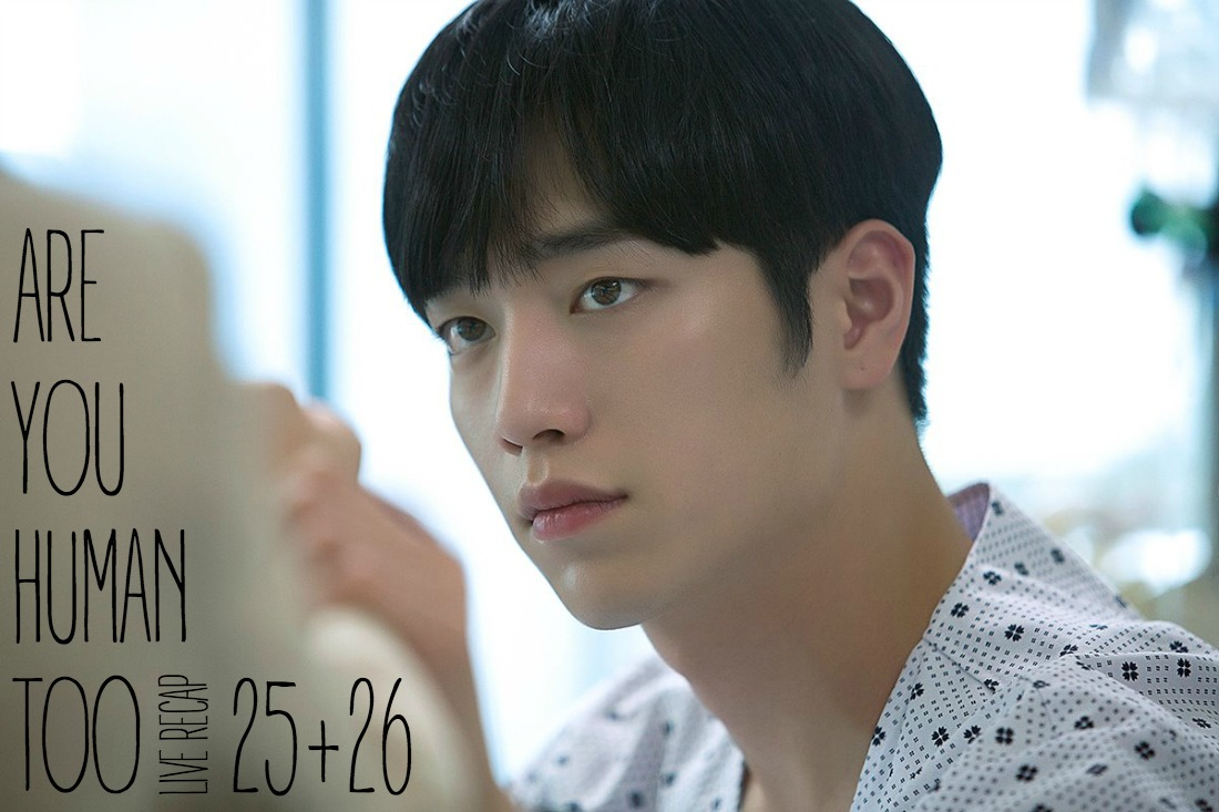 Kang Seo-joon in a hospital gown and bed
