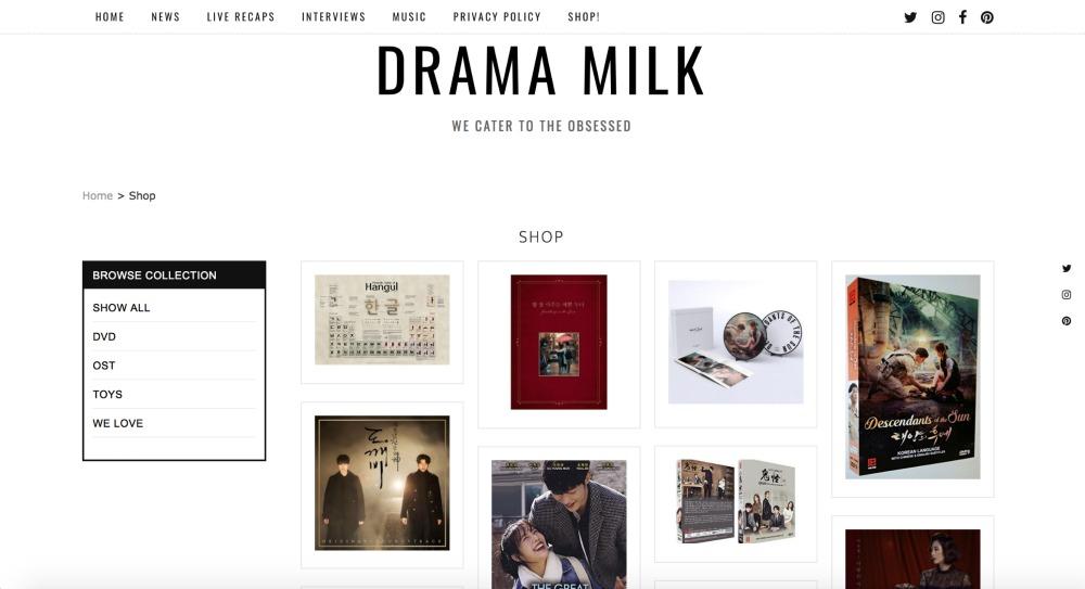 Drama Milk Shop