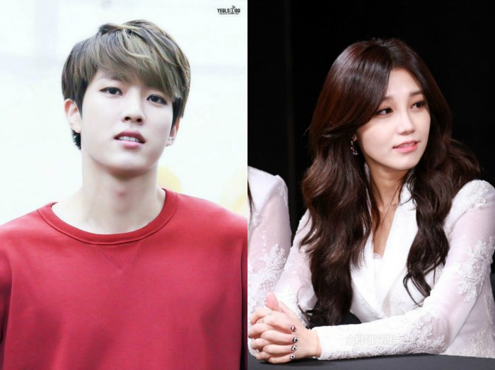 Jung Eun-ji and Lee Seung-yeol