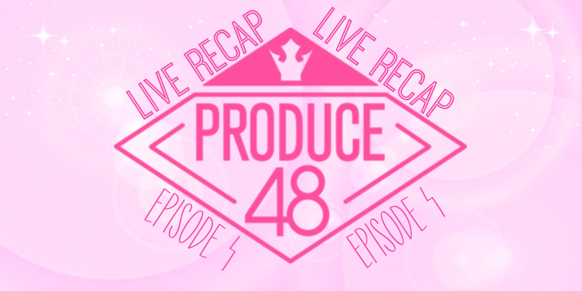 Produce 48 logo Live Recap English translation for Episode 4
