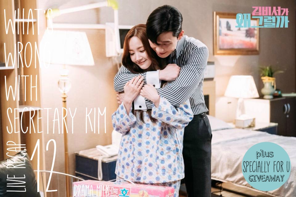 What's Wrong With Secretary Kim Live Recap Episode 12