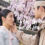 Do Kyung-Soo touching Nam Ji-Hyun's cheek in 100 Days My Prince romantic Kdrama