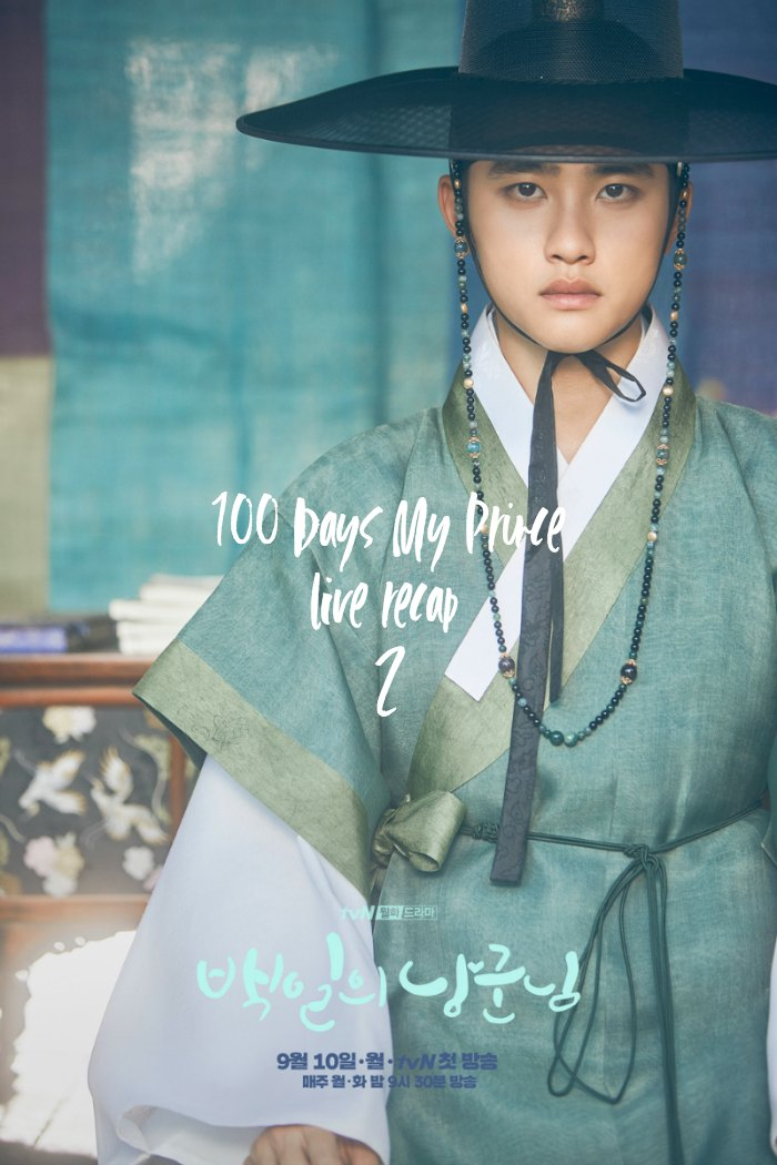 Poster for 100 Days My Prince Korean Drama
