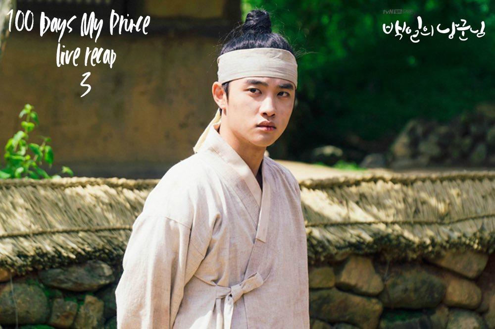 100 Days My Prince Sageuk Korean Drama