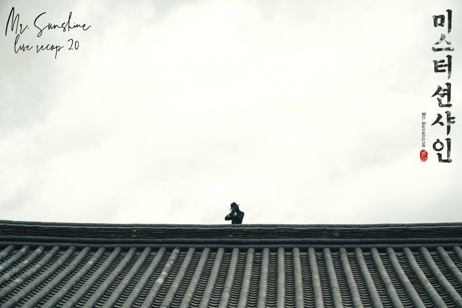 Shooter on a roof in Korean Drama Mr. Sunshine