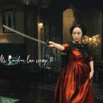 A woman holding a sword in Korean Drama Mr. Sunshine
