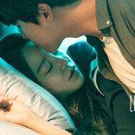 Yang Se-Jong kisses Shin Hye-Sun in bed in Korean drama Still 17