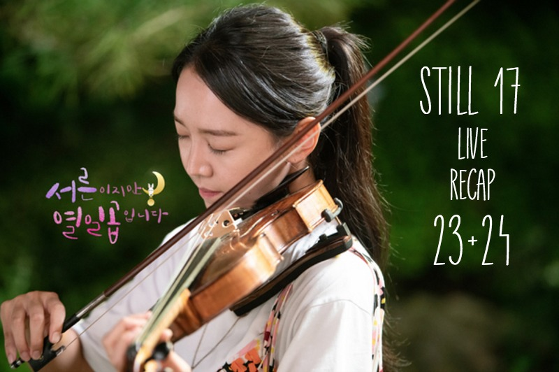 Seori plays the violin in Korean drama Still 17