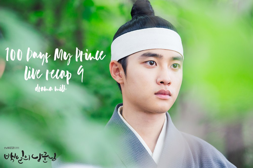Do Kyung-Soo in sageuk attire in 100 Days My Prince
