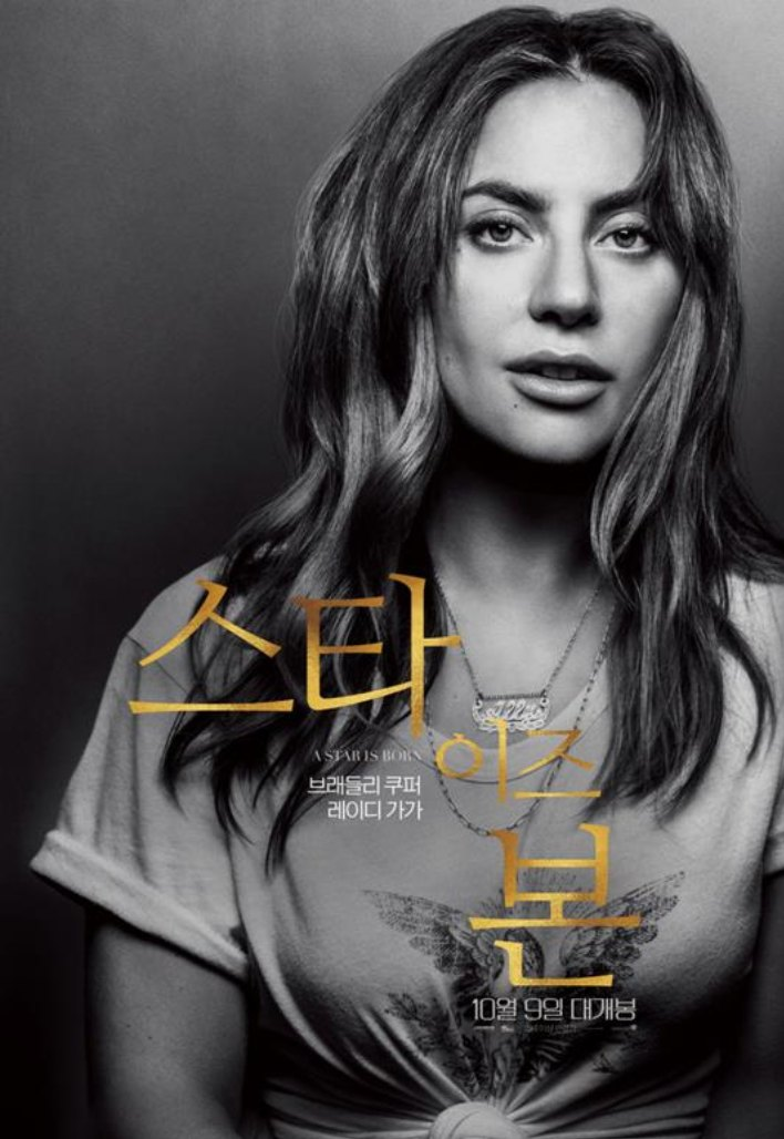 A star is Born Korean Poster