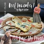How to Make Korean Beef Pancake recipe from Korean Drama 100 Days My Prince