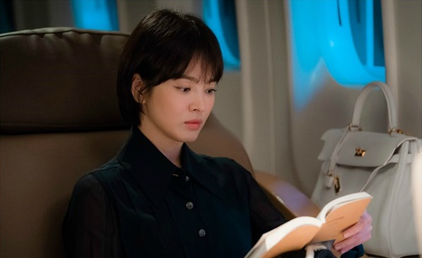 Song Hye Kyo set images of filming for kdrama Boyfriend (aka Encounter)