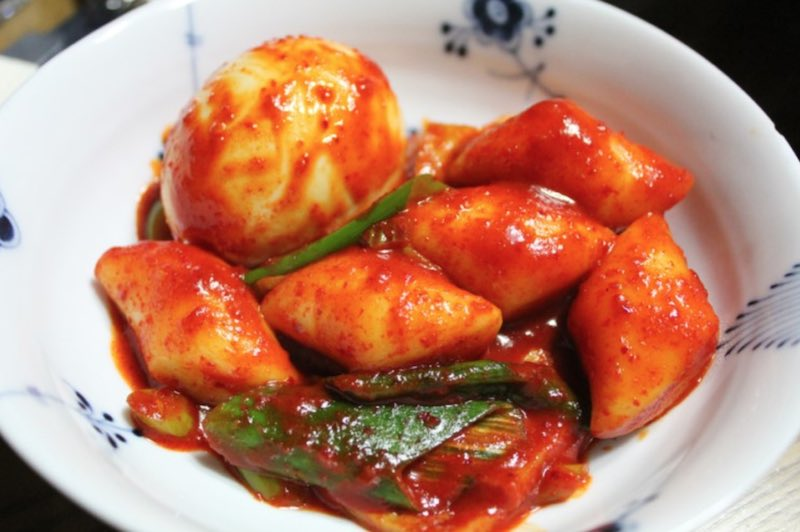 How to make Spicy Rice Cake Ddeokbokki from The Third Charm Kdrama