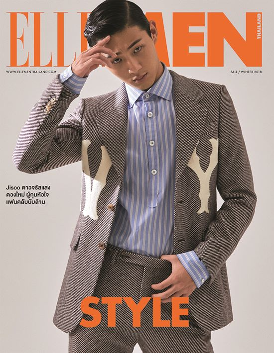 Ji Soo for Elle Men Thailand